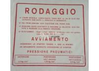 Autocollant RODAGGIO RMS