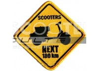 Ecusson SCOOTER NEXT