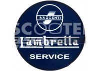 Autocollant LAMBRETTA Bleu