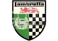 Autocollant LAMBRETTA Castrol