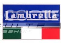 Autocollant Italia LAMBRETTA