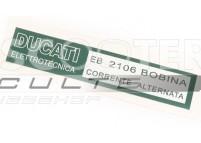 Autocollant DUCATI - Allumage