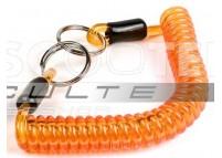 Porte cles spiral orange